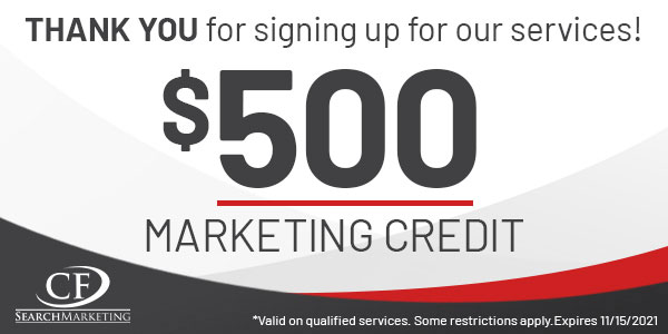 2021 Digital Dealer Las Vegas - 500 marketing credit