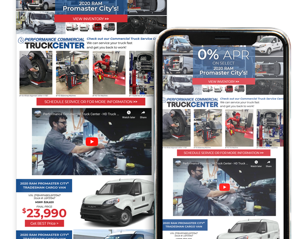 Email Marketing for Commercial Vehicles