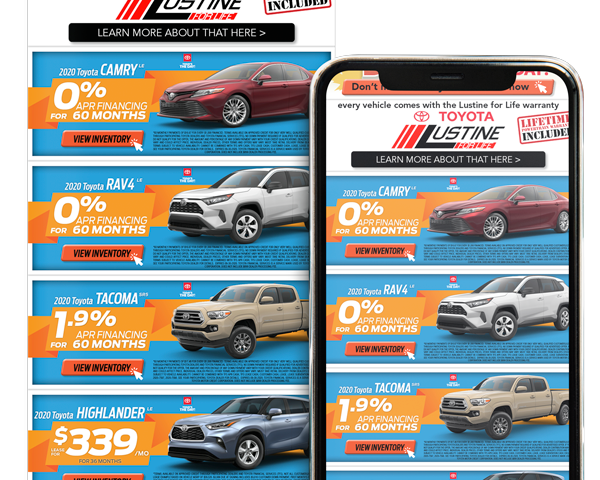 Email Marketing for Toyota Dealerships